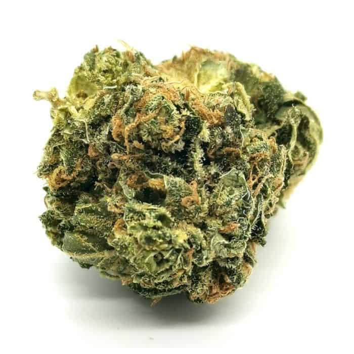 shishkaberry by hexo strain review (picture of cannabis)