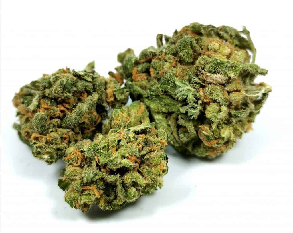 blue dream strain review picture of cannabis hexo