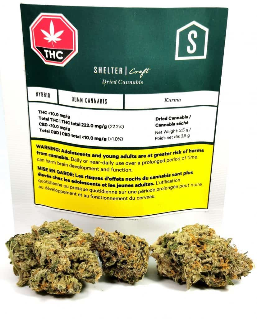 Karma by Dunn Cannabis review cannabissensei.com